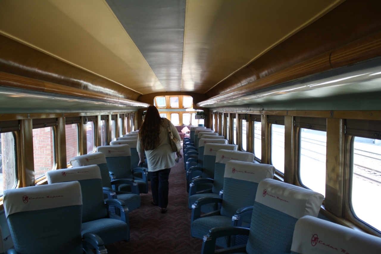 Toyota Cedar Rapids >> Milwaukee Road Skytop Observation Car At Wisconsin By Rob